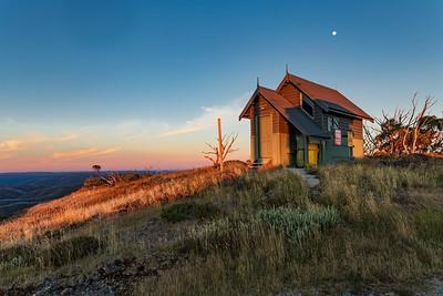 Mt Hotham hut  6257
