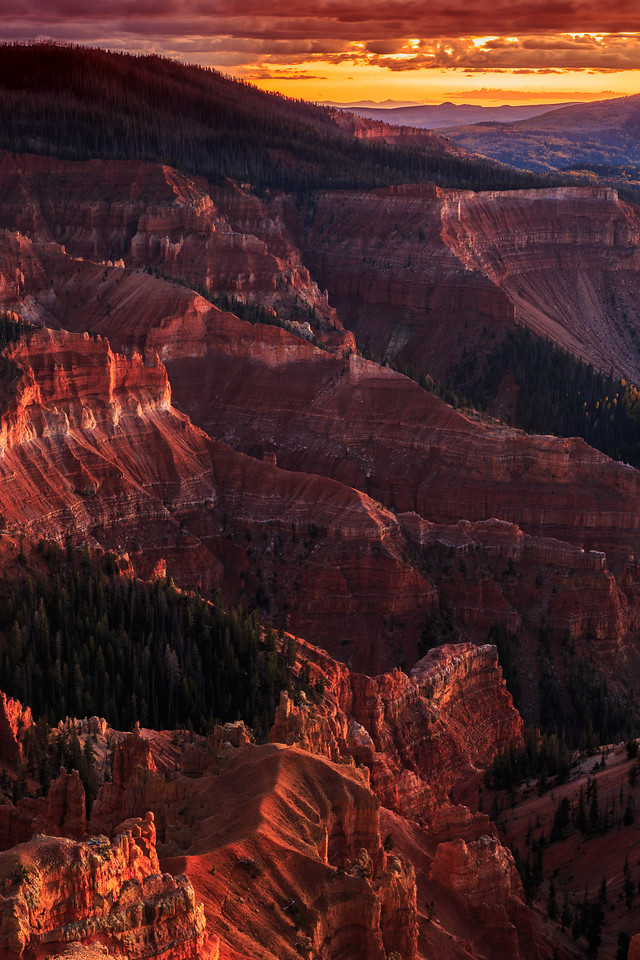 Sunset at Cedar Breaks