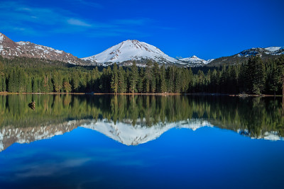Mount Lassen Reflection in Manzanita Lake