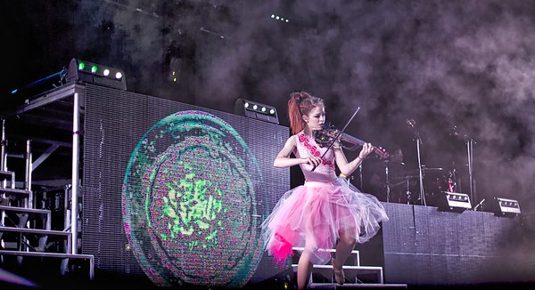 Lindsey Stirling at Bonney Field