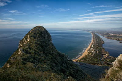 From Monte Circeo Italy 8935
