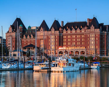 Empress Hotel and Victoria Harbour