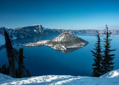 Blue Gem Crater Lake