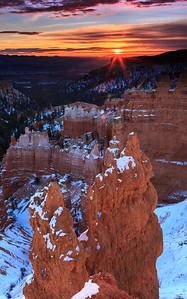 Bryce Canyon Sunrise (Portrait)