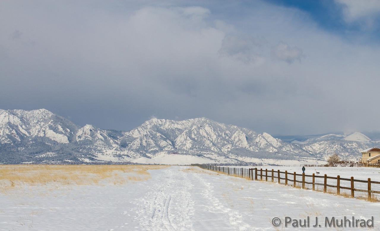 Green Mountain from Davidson Mesa