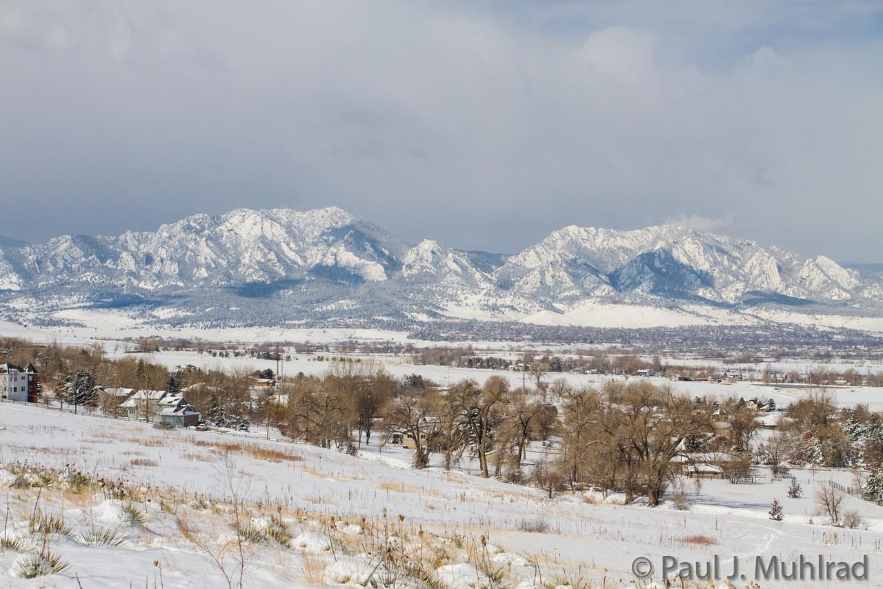 Bear Peak and Green Mountain