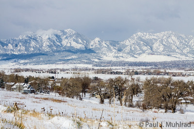 Snow at Davidson Mesa