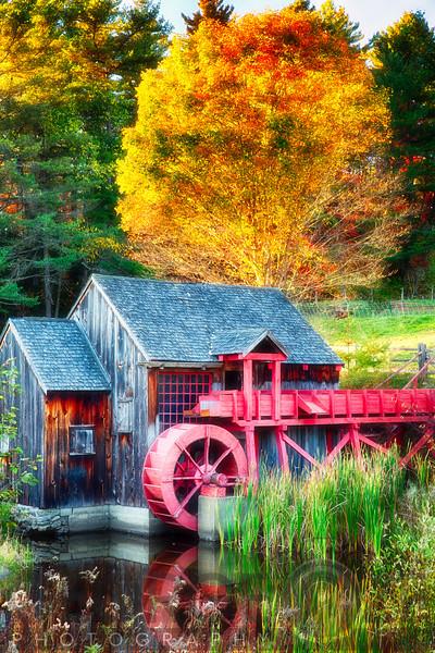 Little Reds Grist Mill in Vermont
