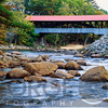 Covered Bidge Over the Swift River at Conway, New Hampshire