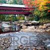 Covered Bridge over the Saco River, Conway, New Hampshire
