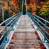 Bemis Bridge Over the Saco River, Hart's Location, New Hampshire