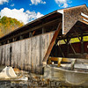 Frontal View of the Swidtwater Covered Bridge, Bath, New Hampshire
