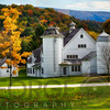 Southern Vermont Farm During Fall