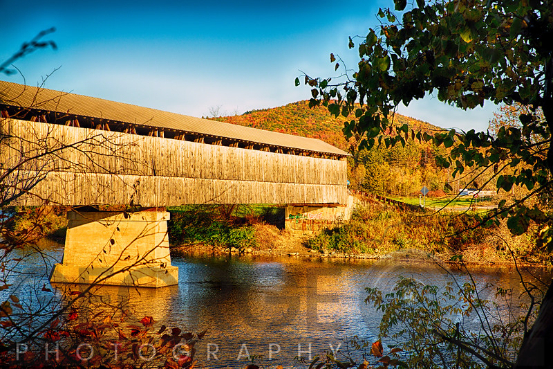 Covered Bridge Over the Connecticut River