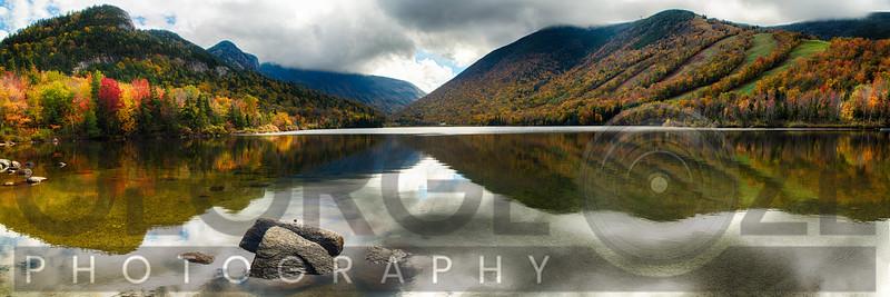 Echo Lake Autumn Panorama