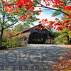 Low Angle View of a Covered Bridge, Albany, New Hampshire