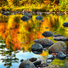Fall Colors Reflected in a River