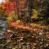 Rocky Creek in Franconia at Fall