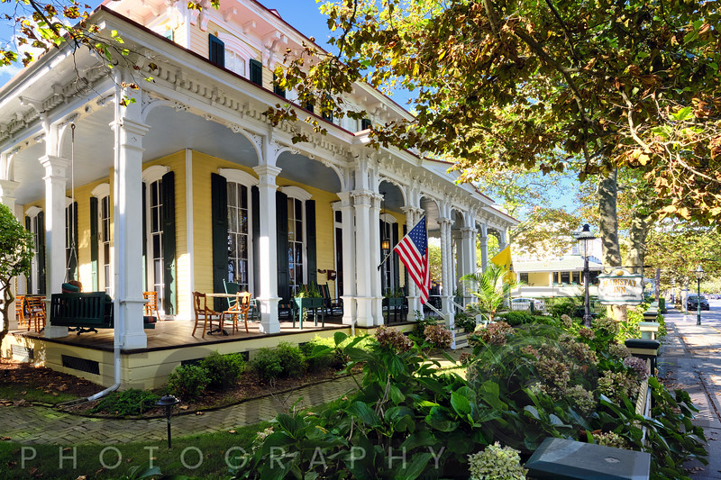 Victorian Style House with a Wrap Around Porch in Cape May, New Jersey
