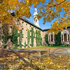 Nassau Hall with Fall Foliage, Princeton University, New Jersey
