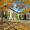 Nassau Hall with Fall Foliage, Princeton University, New Jersey