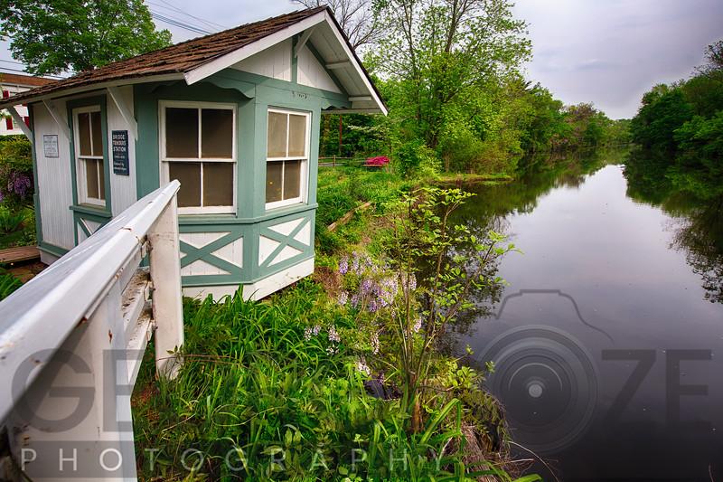 Bridge Tender House on the Canal