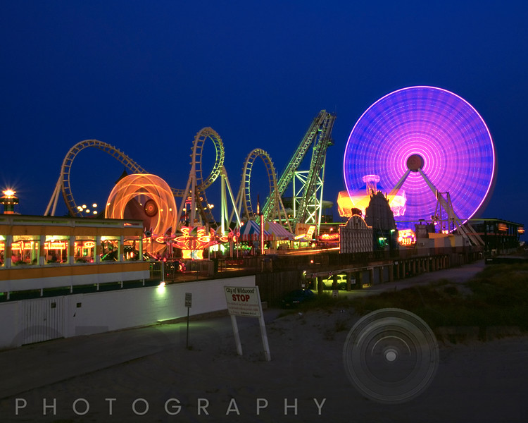Lights of Wildwood, New Jersey