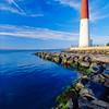 Vertical View of a Lighthouse, Barnegat Lighthouse, Long Beach Island, New Jersey