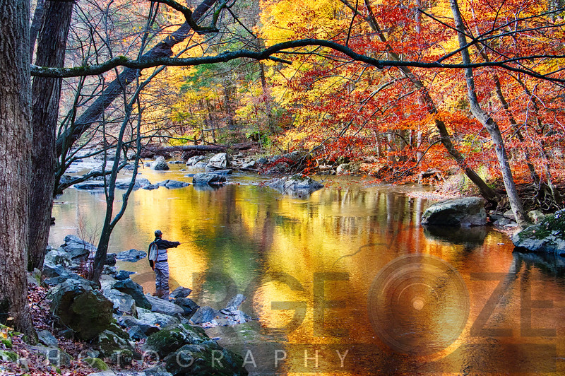 Scenic New Jersey Fall Fly Fishing