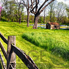 Milkhouse at a Pond During Spring, Tewksbury, Hunterdon County, New Jesey