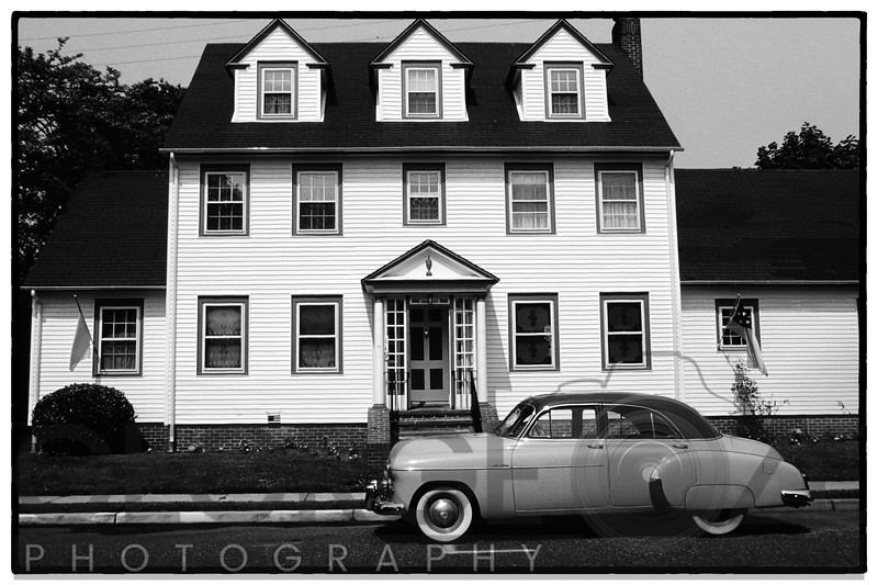 Old Car on the Street, Cape May, New Jersey