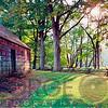 Old Farmahouse in Warm Autumn Sunlight, New Jersey