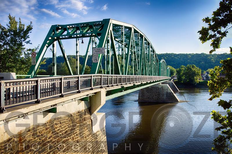 Upper Black Eddy–Milford   Bridge Over the Delaware River