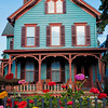 Colorful Old House, Flemington, New Jersey