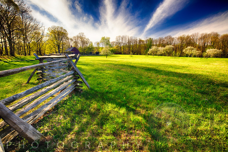 Historic Farm During Spring, Morristown, New Jersey