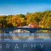 Bridge On Lake Carnegie at the Shea Rowing Center, Princeton, New Jersey