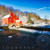 Winter Morning at The Red Mill, Clinton, New Jersey