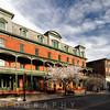 View of the Historic Union Hotel in Flemington, Hunterdon County, New Jersey