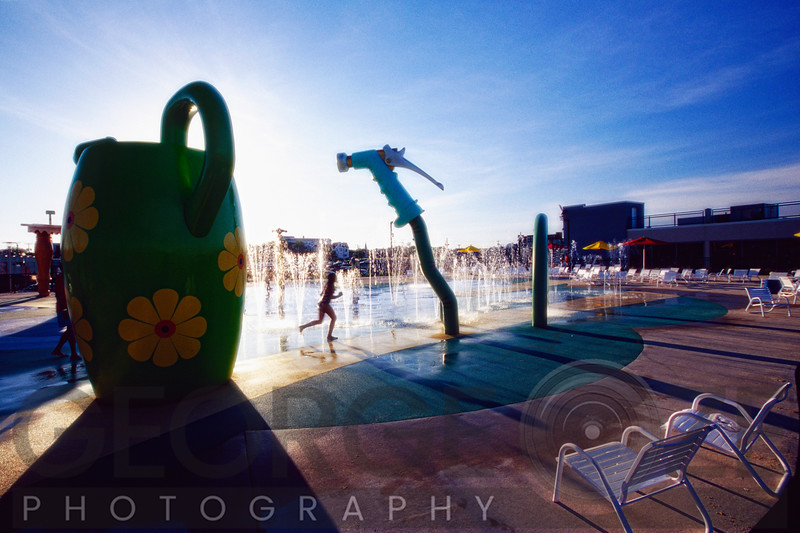 Summer Fun in the Asbury Park Waterpark, New Jersey