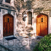 Doors of Wright Hall, Princeton, N ew Jersey