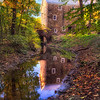 Old Mill Refflected in a Creek, Cooper Mill, Chatham, Morris County, New Jersey