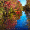 Fall Scenic Along the Delaware & Raritan Canal, Princeton, New Jersey
