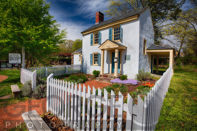 Historic Nelson House During Spring, New Jersey