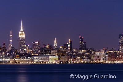 NYC Blue Hour I