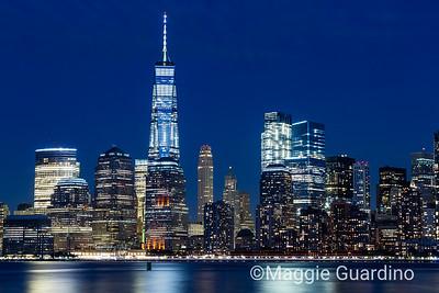 NYC Blue Hour II