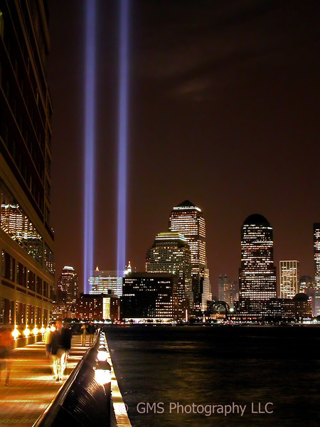 911 Anniversary Lights