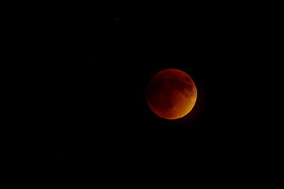 Supermoon Total Eclipse, September 27, 2015