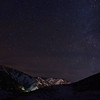 Bald Mountain And The Night Sky, Sun Valley, Idaho
