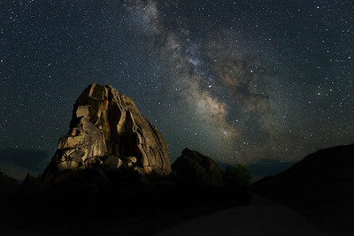 Milky Way over City of Rocks National Reserve