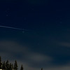 International Space Station over Ketchum, Idaho